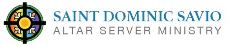 Saint Dominic Savio Altar Server Ministry
